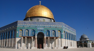 Dome of the Rock mosque on Temple Mount