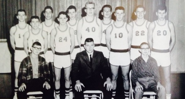 1964-65 Dwight High School basketball team