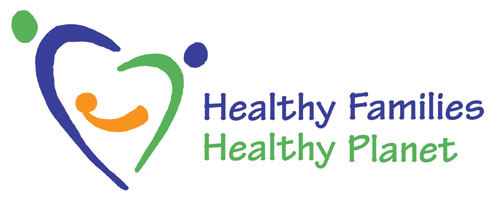 Healthy Families, Healthy Planet logo